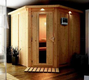 Finská sauna pro 2-3 osoby KARIBU JARIN