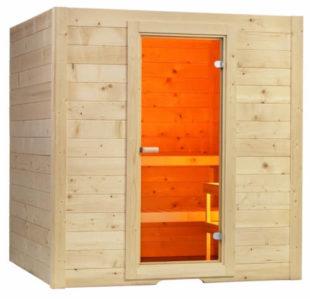 Finská sauna Sentio Large se saunovými kamny HARVIA